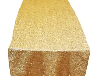 Gold Brilliance Table Runner