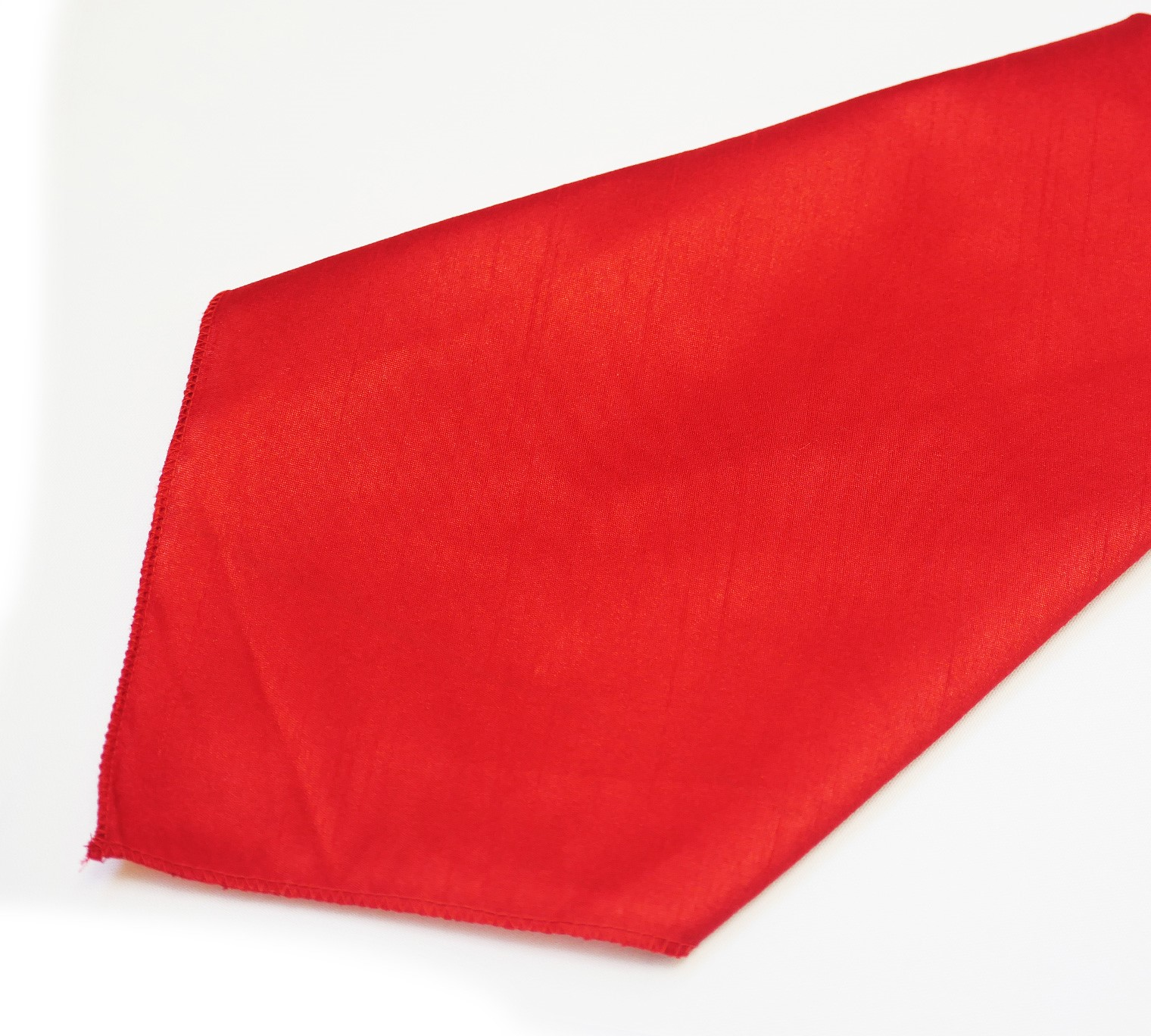 Red Poly Dupioni Napkin
