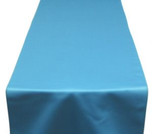 Turquoise Lamour Table Runner